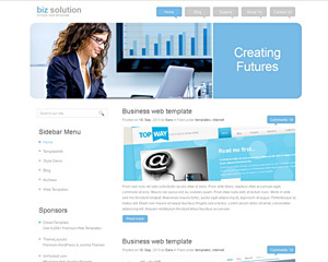 BizSolution Website Template