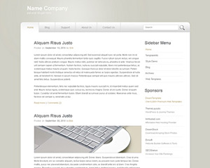 BlandOdyssey Website Template