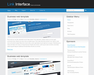 InterfaceX Website Template