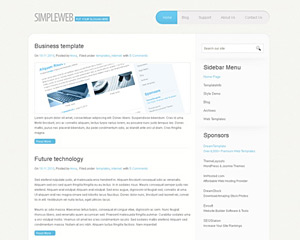 PaperCurl Website Template
