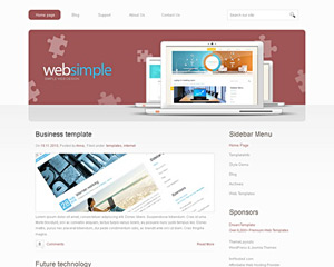 RedSnow Website Template