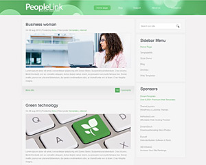 GreenLine Website Template